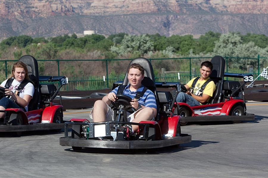 Go Karts | Bananas Fun Park - Grand Junction, CO
