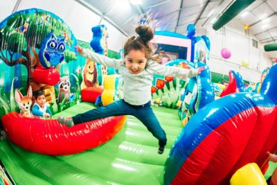 Inflatable Playland | Bananas Fun Park - Grand Junction, CO