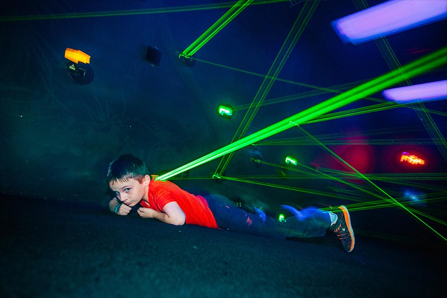 Lazer Maze | Bananas Fun Park - Grand Junction, CO