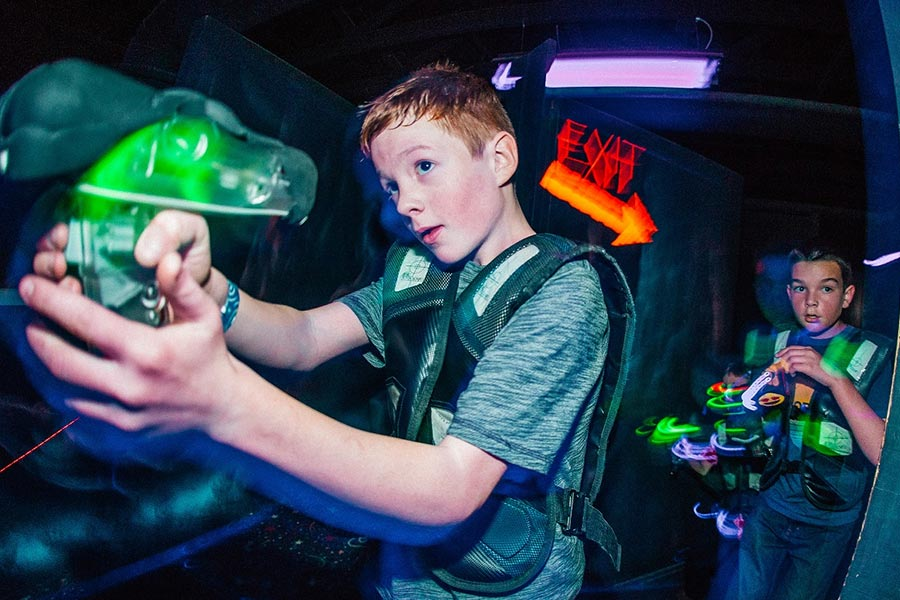 Lazer Tag | Bananas Fun Park - Grand Junction, CO